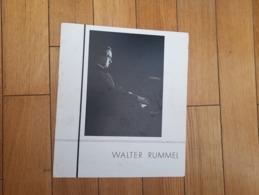 Walter Rummel Programme Bach Liszt Piano Pianiste  Rennes 27/11 1933 - Music & Instruments