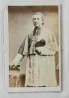 CDV Vintage Albumen Carte De Visite, Du Cardinal Bonald, Archevêque De Lyon,  Vers 1860 - Anciennes (Av. 1900)