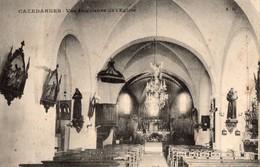 CPA - 34 - CAZEDARNES - Vue Intérieure De L'Eglise - Autres Communes