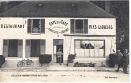 OULCHY-BRENY - Café De La Gare - Autres Communes