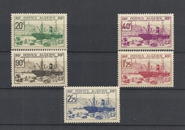Algérie Française N°153/157 Cote 24€ - Algeria (1924-1962)