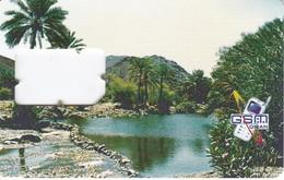 TARJETA DE OMAN DE MOBILE GSM (PAISAJE-OASIS) - Oman