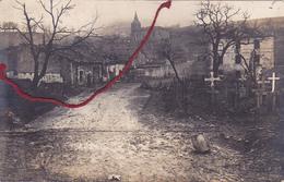 ( 55 ) - Flabas Carte Photo Allemande 1° Guerre - Damvillers