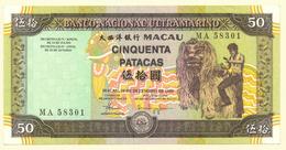 50 Patacas 1999 UNC - Macau