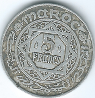 Morocco - Mohammed V - AH1370 (1951) - 5 Francs - KMY48 - Marocco