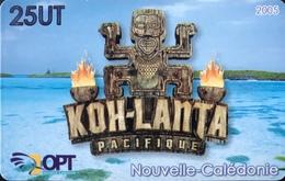 NOUVELLE CALEDONIE -  Phonecard  -  KOH-LANTA -  NC 134  -  25 Unités - Nouvelle-Calédonie