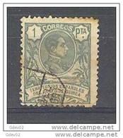 GUI69-LAB372TEUESPCOLSC.Guinee.GUINEA ESPAÑOLA. Alfonso Xlll.1908  (Ed 69º) Circulado.BONITO - España