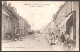 Beaune  :  Faubourg Saint Nicolas Et Route De Dijon - Beaune