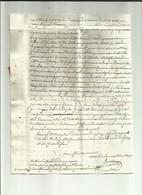 Gard Déb 29 Le Vigan 8/03/1822 De 42 Paimboeuf Loire Inférieure Redirigée Sur Montagnac Hérault - 1801-1848: Vorläufer XIX