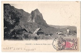 Réunion - Cilaos,. Le Bonnet De Prêtre (1711m) -  Au Verso Cachet Du Paquebot Yarra. - La Réunion