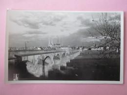 Cpsm Photo_MOULINS_Le Pont Regemortes_TBE - Moulins