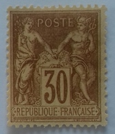 Numéro 80 Neuf, Timbre Bien Centré. - 1876-1898 Sage (Type II)