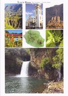 974 ILE DE LA REUNION / CARTE GEOGRAPHIQUE - MULTIVUES / ILES VANILLE - Cartes Géographiques
