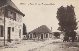 URCEL - La Poste Et Le Foyer Franco-Américain - Altri Comuni