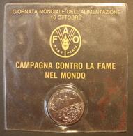 ITALIA MEDAGLIA MEDAL FAO CAMPAGNA CONTRO LA FAME NEL MONDO WORLD FOOD DAY 1989 - Italie