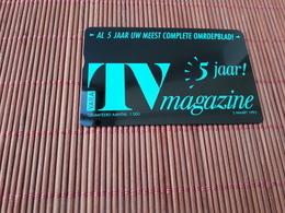 Phonecard Private Netherlands TV. Vara  301 H (Mint,Neuve) Rare - Pays-Bas