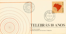 Telebrás.  Brazilian Telecommunications Company. FDC  Brésil - Telecom