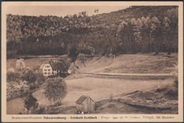CPA Eschbach-au-Val Restaurant Pension Schwarzbourg, Circulé 1955 - Otros Municipios