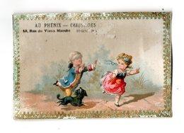 Chromo Testu & Massin, 32-46, Cadre Dorée - Trade Cards