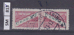 SAN MARINO  1945Pacchi Postali La Coppia Cent 20 Usati - Colis Postaux