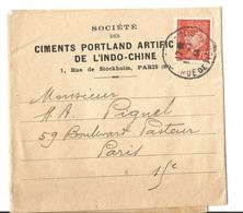 1 Bande D'imprimé De Paris à Paris T.P. Seul/document 23 € - 1941-42 Pétain