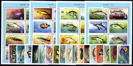 Lesotho 1998 Year Of The Ocean. Fish Unmounted Mint. - Lesotho (1966-...)
