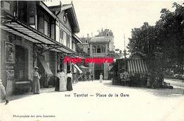 CH - Suisse - Territet - Place De La Gare - VD Vaud