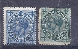 200034465  ESPAÑA   EDIFIL   Nº  183/4  */MH - 1875-1882 Regno: Alfonso XII