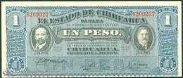 TWN - MEXICO S530e - 1 Peso 20.10.1915 Série AYJ-HH AU/UNC - Messico