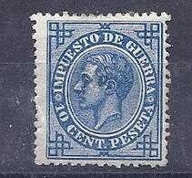 200034467  ESPAÑA   EDIFIL   Nº  184  */MH - 1875-1882 Regno: Alfonso XII