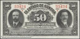 TWN - MEXICO S1070 - 50 Centavos 1.1.1915 Série A UNC - Mexique
