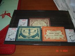 POLYNESIE FRANCAISE  ANNEE 2007  NEUFS SANS TRACES DE CHARNIERES  N°818 819 820 SERIE COMPLETE   MONNAIES ANCIENNES - Collections (without Album)