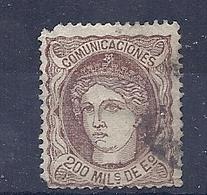 200034480  ESPAÑA   EDIFIL   Nº  190 - 1870-72 Reggenza