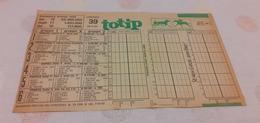 SCHEDINA TOTIP 1993 - Equitazione