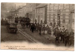 Longlaville: Grévistes - Francia