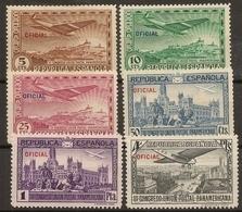España Edifil 630/635* Mh  Serie Completa  III Congreso Americano  1931  NL1425 - 1931-Aujourd'hui: II. République - ....Juan Carlos I
