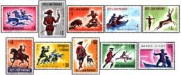 1961 - SAN MARINO - CACCIA ANTICA - 555/564 - NUOVI - MNH - Nuovi