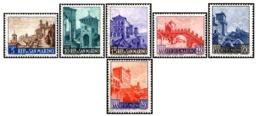 1966 - SAN MARINO - VEDUTE - 711/16 - NUOVI - MNH - Nuevos