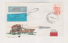 YUGOSLAVIA,1965 MARIBOR Rocket Post Cover - Covers & Documents