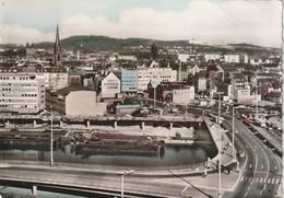 Saarbrücken, Teilansicht Und Wilhelm-Heinrich-Brücke, Verlag F. Muth Nr 66 - 384 - Saarbrücken