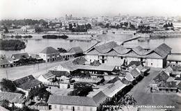 CARTAGENA (Kolumbien) - Panoramic View, Fotokarte Um 1950, Verlag J.V.Mogollon & Cia - Colombia