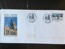 Dunkerque Beffroi Patrimoine Mondial 2005 - Marcophilie (Lettres)