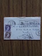Enveloppe Timbrée Avec Carte Du Canada Charlesbourg Du 19 Decembre 1962 - Lettres & Documents