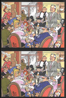 België/Belgique - Blok's/Blocs 2002 Xx Postfris - Neuf - 2x BL100xx. - Blocks & Sheetlets 1962-....