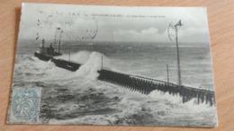 CPA -   194. BOULOGNE SUR MER - La Jetée Ouest à Marée Haute - Boulogne Sur Mer