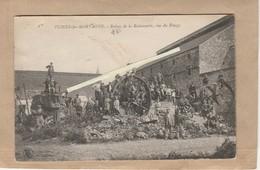 Dept 59 : ( Nord ) Flines-les-Mortagne, Ruines De La Rubannerie, Rue Du Rivage. - France