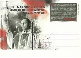 Poland 2018 Fi 1835 Postal Stationery ( Cp ZE4 PLD1835 ) - Célébrités