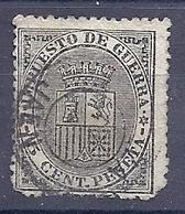 200034515  ESPAÑA   EDIFIL   Nº  184  */MH  NO GUM - 1873-74 Regentschaft