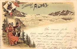 51 Cartes Scannées Recto. Des Très Belles, Des Moyennes & Des Plus Petites. Lot N°011. - Cartes Postales