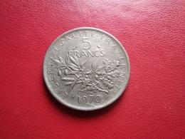 FRANCE   5  Francs   1970   -- Semeuse -- Faux D'époque - France